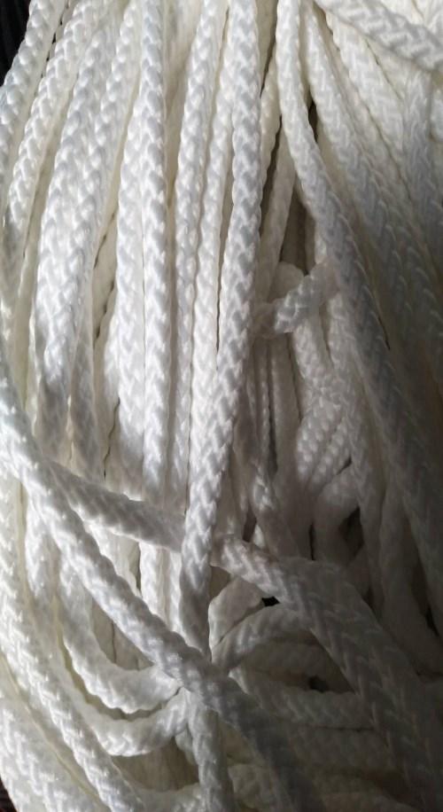 山东涤纶圆绳生产厂家空心棉绳价格泰州市开发区林光织造厂