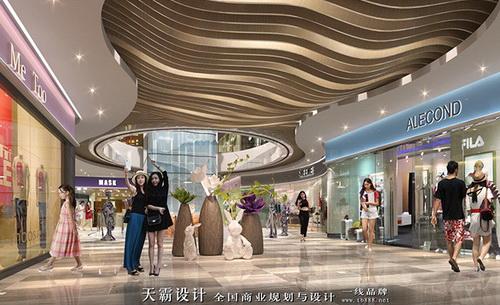 宁夏商业空间装修设计找哪家公司好天霸设计毛遂自荐