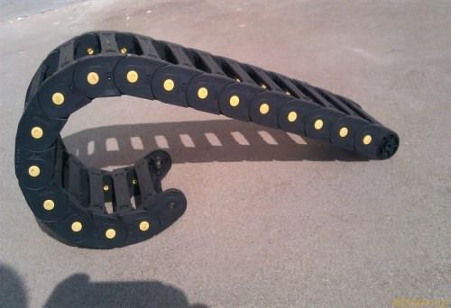工程塑料拖链厂家-穿线工程塑料拖链加工-重型连体式工程塑料拖链
