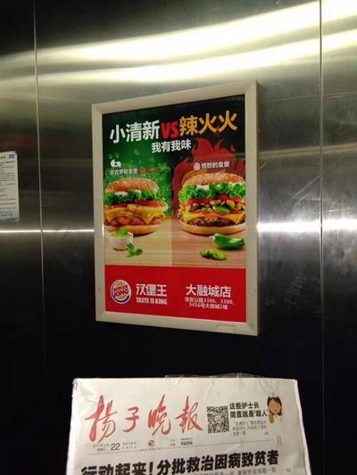 专业发布上海社区电梯框架、目标精确效果好