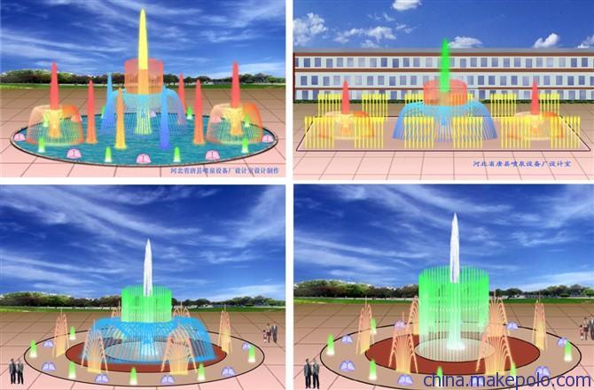 青岛喷泉厂家、青岛喷泉制作