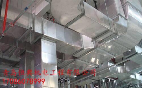 青岛地下车库消防排烟上门安装青岛不锈钢排烟管道青岛恒典机电工程有限公司
