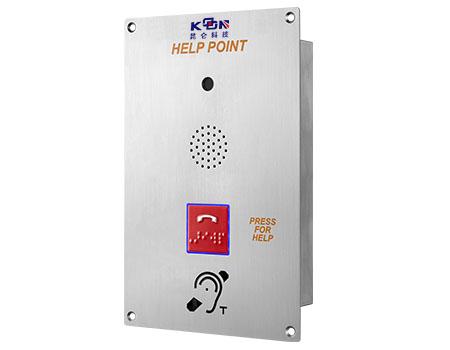昆仑残疾人自助召援可视电话机咨询?#34892;?#26381;务电话机嵌入式可视对讲电话机