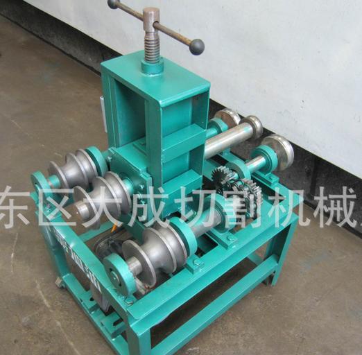 加重型76型小型大棚电动弯管机立式电动手动压管机