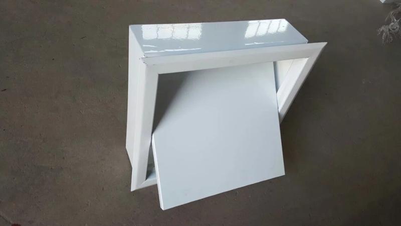 亚通供应近控板式排烟口方形板式排烟口常闭排烟口