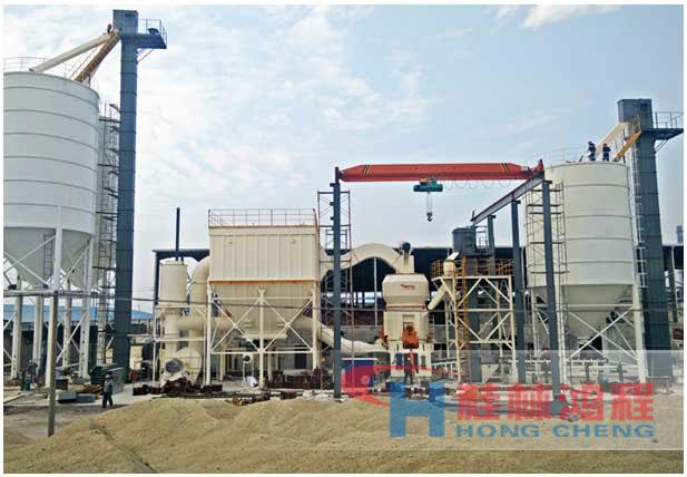 小型蛭石磨粉机生产线设备高产量蛭石立式磨粉机