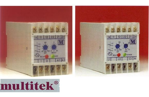 multitek继电器-英国multitek相序保护继电器m200-v33c