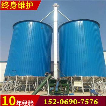 汇旺机械宁津县粮食面粉镀锌钢板仓