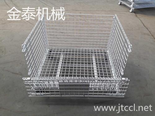 金泰專業生產a-3倉儲籠網格倉儲籠折疊式倉儲籠