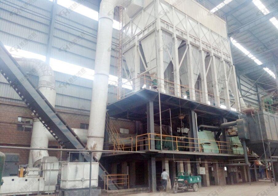 整套高产量尾矿渣立磨生产线设备