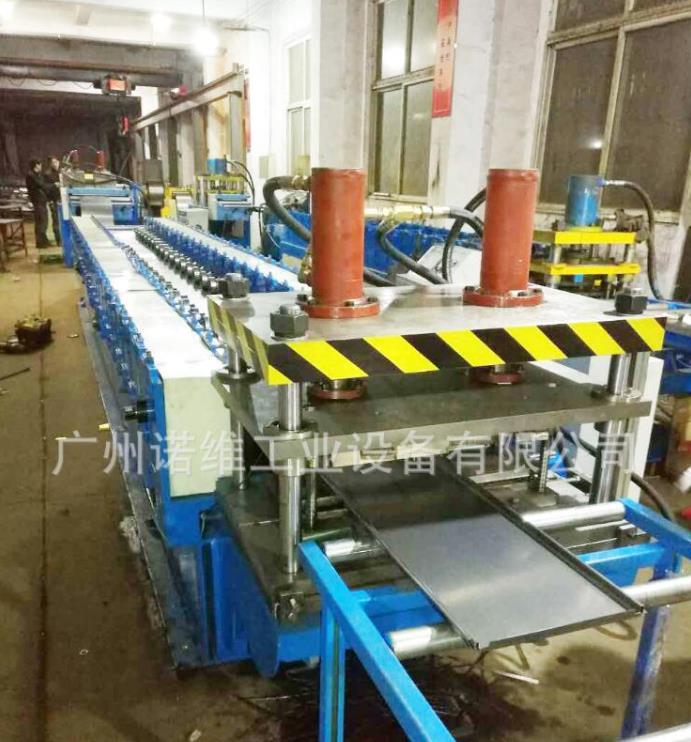 智能货架层板成型机全自动基业箱成型设备广州问鼎钣金设备有限公司