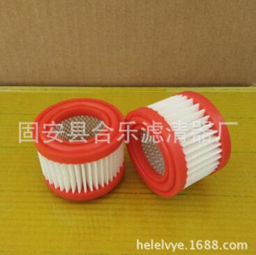 合乐滤清器厂生产透气滤芯呼吸滤芯014500233pu胶滤芯