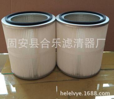 厂家生产覆膜阻燃除尘滤筒除尘滤芯焊烟除尘滤筒内外互网