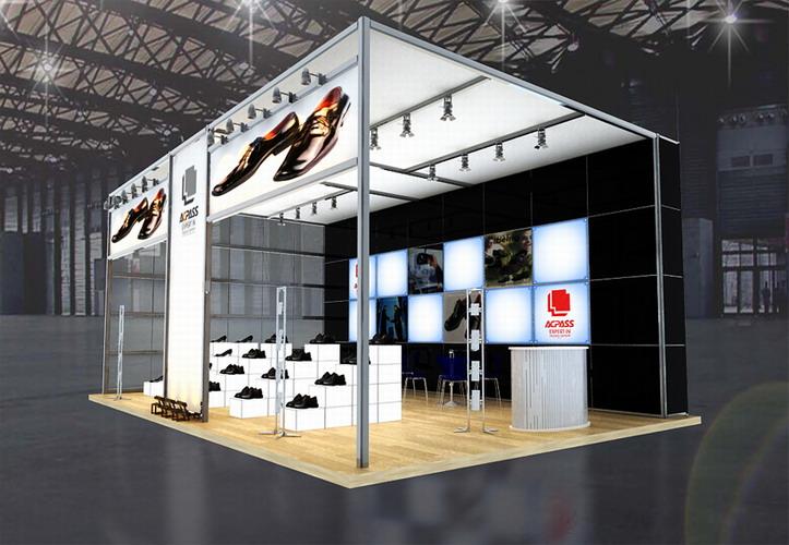 广州邦威厂家专业提供特装展位
