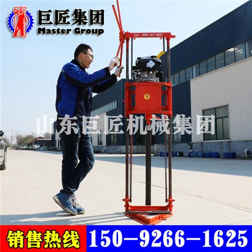 广西供应qz-2b便携式岩心钻机汽油机动力勘探用钻机轻便好用