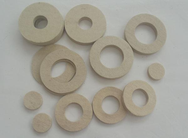 工业毛毡圈垫