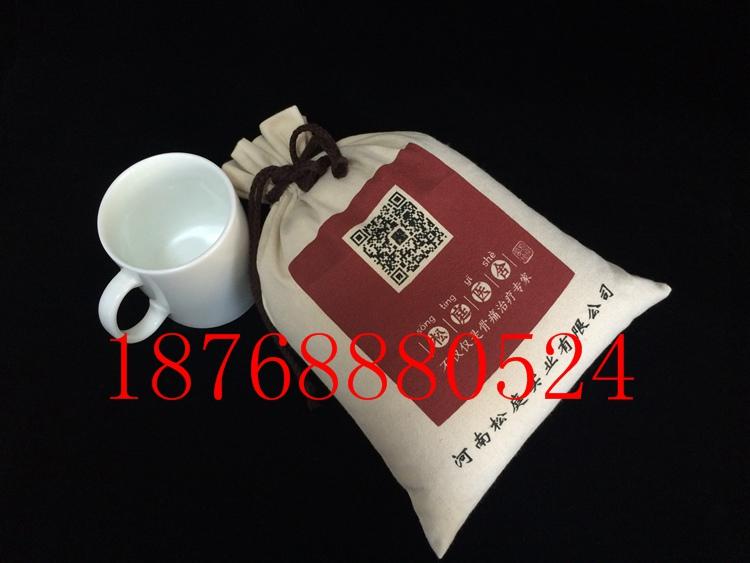 订做10斤棉布大米袋厂家