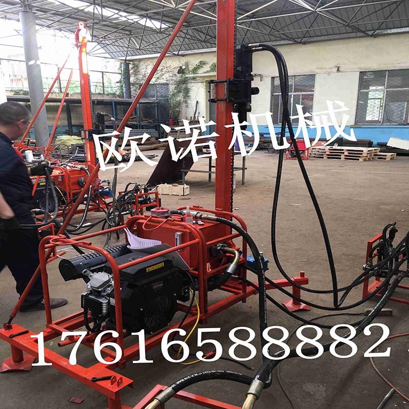30型螺杆式山地钻机价格四川地区山上作业施工山地钻机