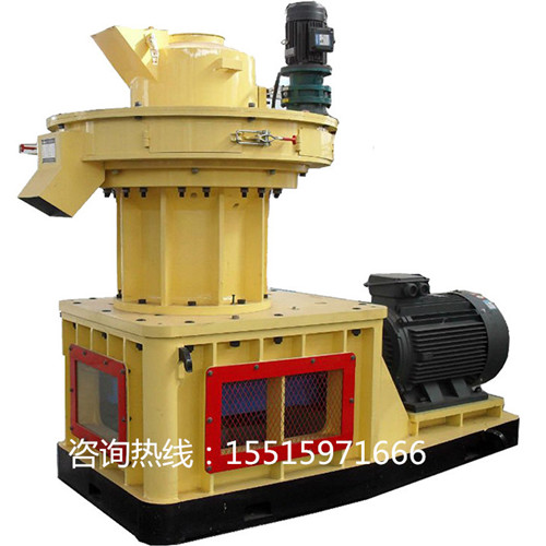 全自动锯末燃料压块机秸秆木屑环模制粒机