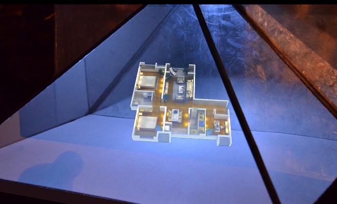 全息展柜全息投影、立体投影、互动投影、数字展厅
