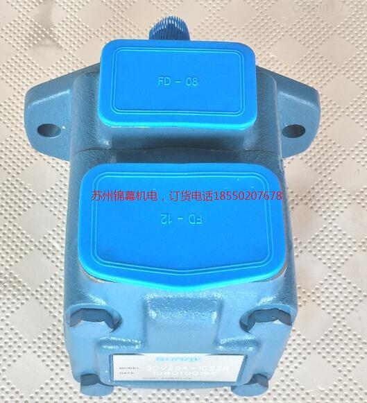 25v21a-1d22r美国sunny桑尼叶片泵、力士乐电磁溢流阀