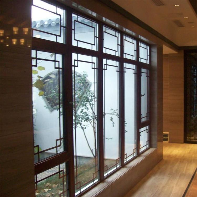 泰州市中式仿古铝包木门窗厂家直销