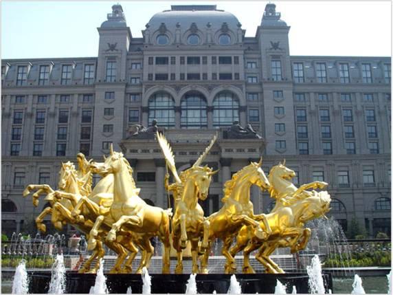 酒店软装设计公司雕塑师作品赏析
