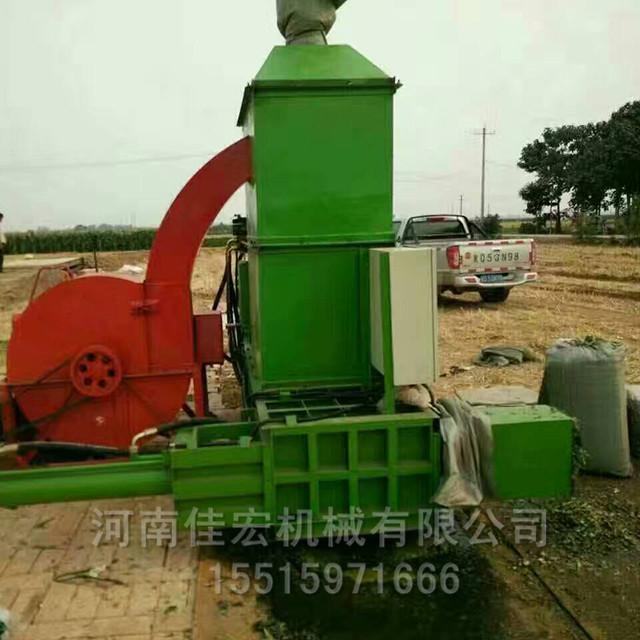 青贮牧草压捆机全自动牛羊饲料打包机