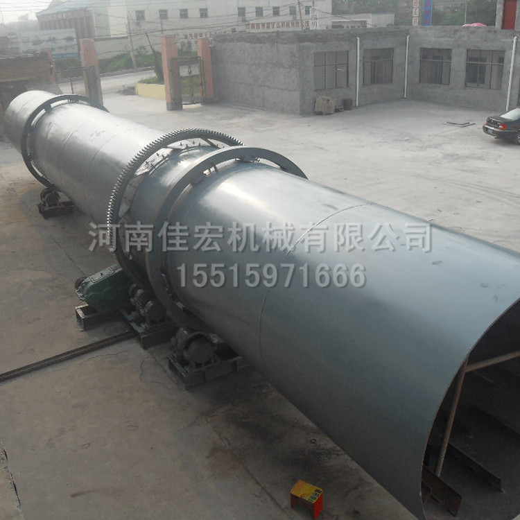12米工业滚筒回转式烘干机价格及产量