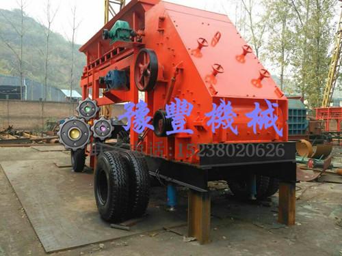 鄂尔多斯时产200吨移动式煤炭破碎选豫丰有保证