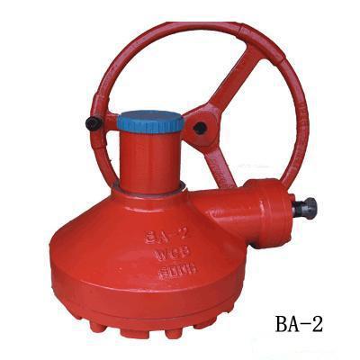 ba-2多回转双级阀门伞齿轮油田闸阀配套手动装置