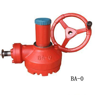 ba-1手动阀门锥齿轮装置闸阀、截止阀专用手动开关机构