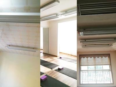 高温瑜伽设备、电热幕、远红外辐射电暖器