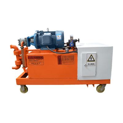 高压水泥砂浆注浆泵工程应用