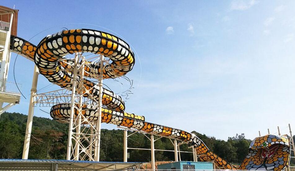 巨蟒滑梯-超级水上滑梯-水滑梯厂家