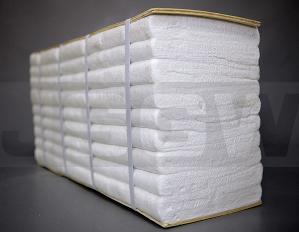 许昌真空炉耐火隔热材料陶瓷纤维折叠块销售