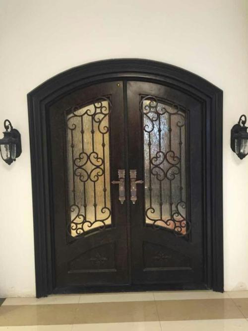铝艺豪华折叠大门
