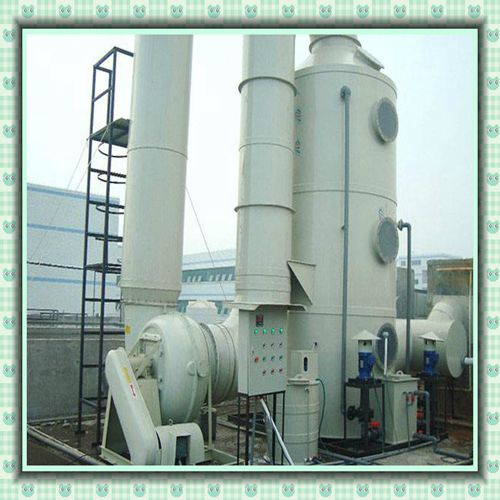 聚丙烯喷淋塔酸雾净化塔塑料酸雾净化塔