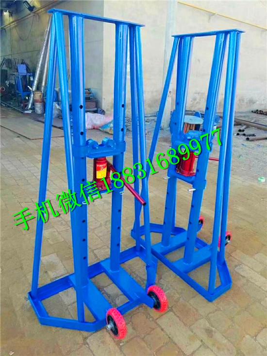 加强型梯型放线架电缆盘升降架液压电缆放线架