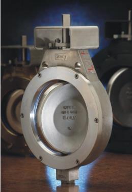 美国博雷s40双偏心高性能蝶阀、进口双偏心蝶阀