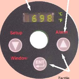 进口测温仪石墨化炉红外测温仪红外高温计1000-3000度