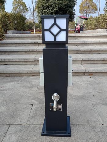 恋途hw-20房车水电桩岸电桩水电箱水电柜水电柱营地桩