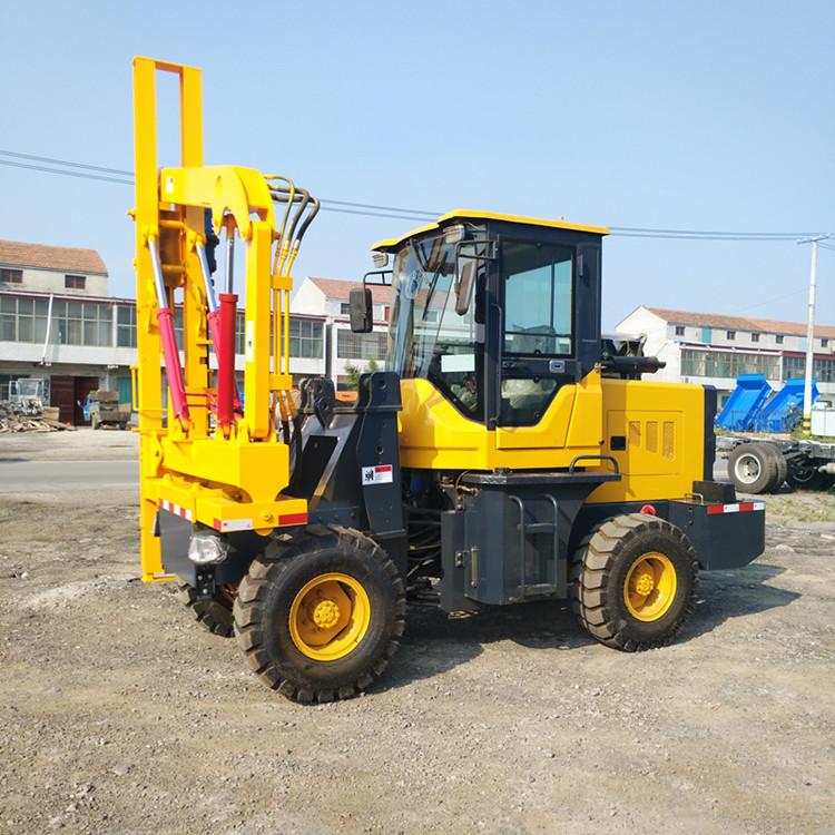 装载护栏打桩机用途质量和参数