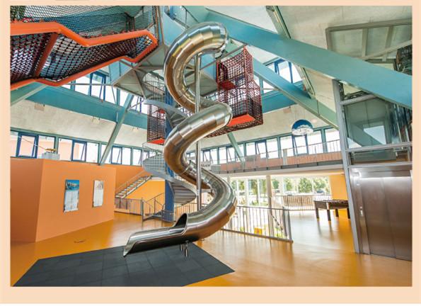 专业不锈钢滑梯厂家定制设计室内外儿童游乐设备