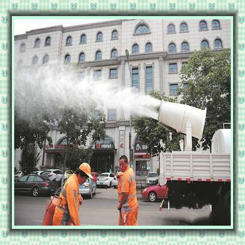 齐齐哈尔佳木斯鹤岗车载式沙场除尘雾炮机