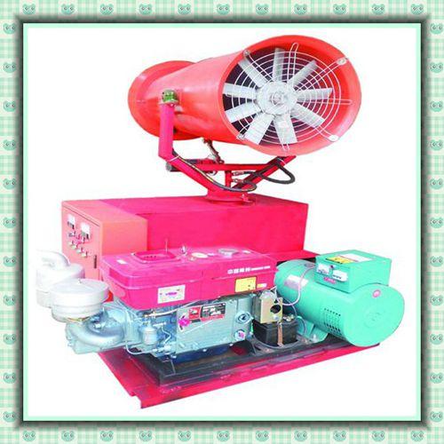 工地高空降温除尘炮雾机/工地专用除尘降温炮雾机