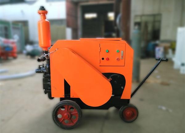 ub80a双缸砂浆泵广泛应用