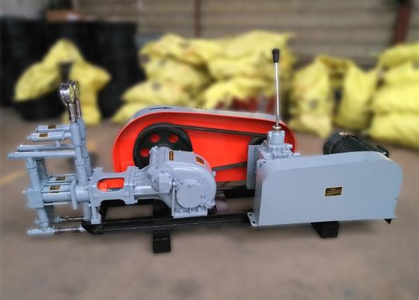 syb60/5双液变量注浆泵为卧式双作用往复式活塞泵