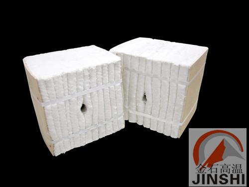 热解炉环保节能陶瓷纤维模块保温设计