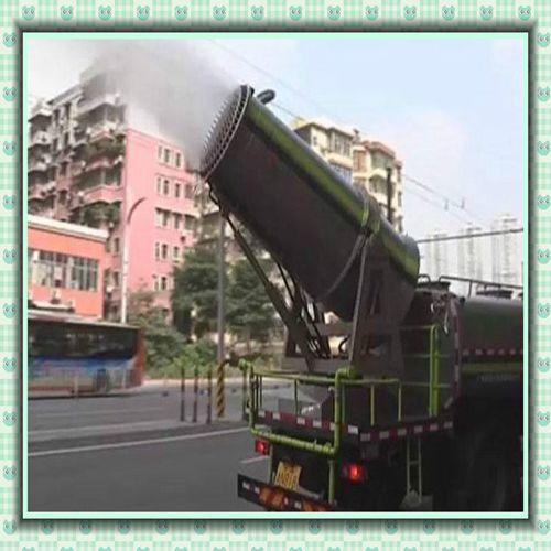 安徽铜陵锦辉环保车载式隧道除尘雾炮机